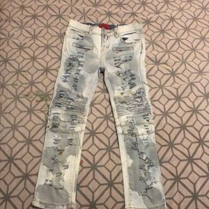 Haus of JR size 7T ripped boy jeans